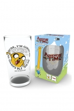 Adventure Time, Finn And Jake Glas Groß 500ml
