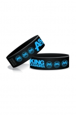 Asking Alexandria, Colors Wristband [Black]