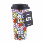 BT21 Reisebecher - Members Collage Travel Mug