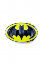 Batman, Logo Buckle Yellow/Black [3D] inkl. Gürtel