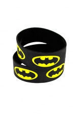 Batman, Logo Engraved Bracelet [Black]
