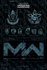 Call Of Duty, Modern Warfare 4 (Icons) Maxi Poster