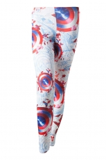 Captain America, Sublimation Printed Legging
