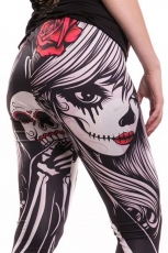 Crow Girl, Leggings Ladies Black DC