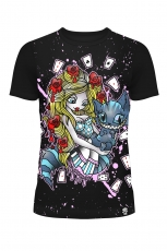 Cupcake Cult, Alice Cards Ladies Shirt