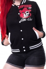 Cupcake Cult, Club Varsity Jacket (Black)