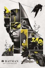 DC Comics, Batman (80th Anniversary) Maxi Poster