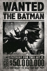 DC Comics, Batman Arkham Origins (Wanted) Maxi Poster