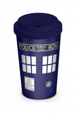 Doctor Who, Tardis Coffee To Go Becher