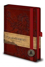 Game Of Thrones, Lannister A5 Notizbuch
