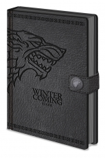 Game Of Thrones, Stark A5 Clasp Notizbuch