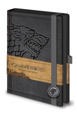 Game Of Thrones, Stark A5 Notizbuch