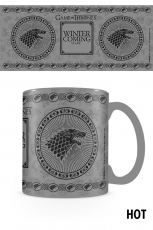 Game Of Thrones, Stark Heat Change Tasse