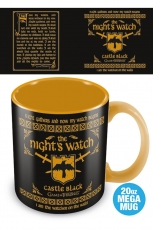 Game of Thrones, The Nights Watch Mega Tasse 560 ml