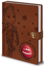 Guardians Of The Galaxy, I Am Groot A5 Clasp Notizbuch