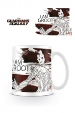Guardians Of The Galaxy, I Am Groot Tasse