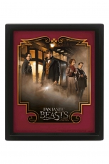 Harry Potter, Fantastic Beasts Magical Group 3D Bild