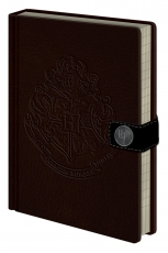 Harry Potter, Hogwarts Crest A5 Clasp Notizbuch