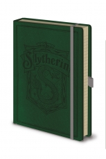 Harry Potter, Slytherin A5 Premium Notizbuch