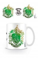 Harry Potter, Slytherin Stencil Crest Tasse