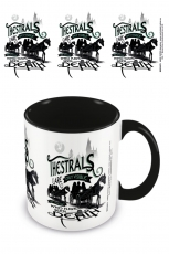 Harry Potter, Thestrals Coloured Inner Tasse Schwarz
