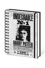 Harry Potter, Undesirable No1  A5 Wiro Notizbuch