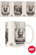 Harry Potter, Wanted Sirius Black Heat Change Tasse