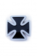 Iron Cross, Buckle With Rounded Vertices [Black|Silver]...