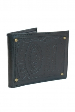Jack Daniel´s, Bifold Wallet Leather Patch