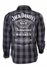 Jack Daniel´s, Checks Shirt [Black|Grey]