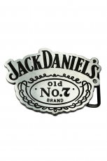 Jack Daniels, Old No.7 Buckle [Light Silver] inkl. Gürtel