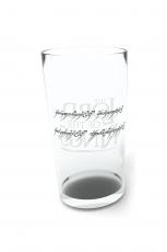 Lord Of The Rings, Ring Glas Groß 500ml