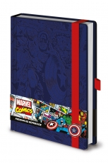 Marvel, Captain America A5 Notizbuch