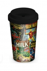 Marvel, Retro Covers Coffee To Go Becher