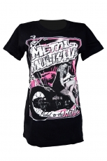 Metal Mulisha, Disarray Crew Girlie Tee [Black]