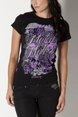 Metal Mulisha, Rosette Crew Black Girlie