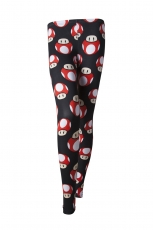 Nintendo, All Over Print Legging Mushroom