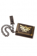 Nintendo, Zelda Leather Trifold Chain Wallet