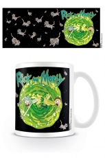 Rick And Morty, Floating Cat Dimension Tasse