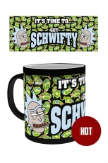 Rick And Morty, Get Schwifty Heat Change Tasse