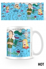 Rick And Morty, Jerry And Mr Meeseeks Heat Change Tasse
