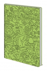 Rick And Morty, Portal Dash Flexi Cover A5 Notizbuch