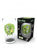 Rick And Morty, Portal Glas Groß 500ml