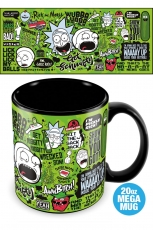 Rick And Morty, Quotes Mega Tasse 560 ml