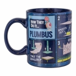 Rick and Morty, Plumbus Instruction Tasse