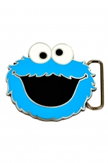 Sesame Street, Cookie Monster Face Buckle [Small] inkl....