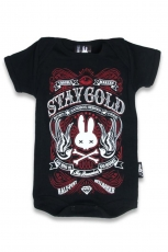 Six Bunnies, Baby Body Stay Gold [Black]
