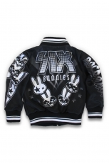 Six Bunnies, Rock Group Kids College Jacket