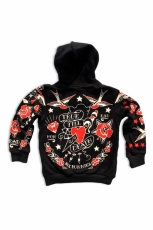 Six Bunnies, True Till Death Kids Zipper [Black]