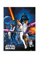 Star Wars, A New Hope Metallic Poster